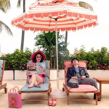 De vacaciones en Miami, así es la primera imagen de la tercera temporada de La maravillosa Sra. Maisel