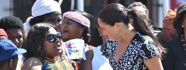 Meghan Markle apuesta por la moda africana tras aterrizar en Ciudad del Cabo