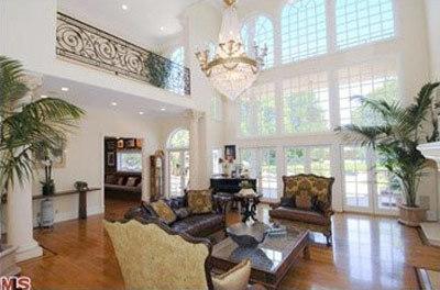 El salón de David Hasselhoff.