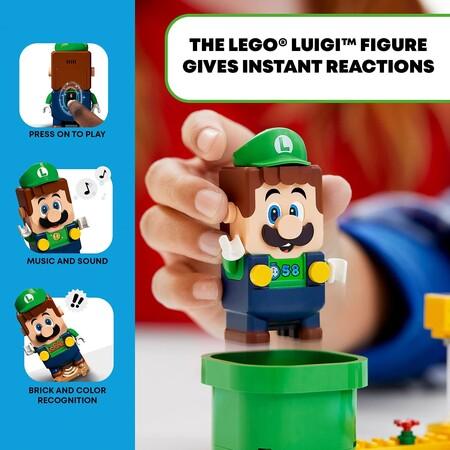 Preventa del nuevo set de LEGO Luigi en Amazon México