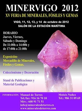 Acércate gratis a la 'XV edición del Salón de Minerales, Fósiles, Gemas y Conchas' de Vigo en este puente
