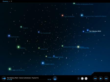 Galaxia F en Planetary