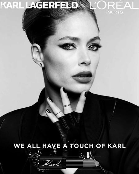 Las primeras imágenes de la colección de maquillaje de L'Oréal rindiendo homenaje a Karl Lagerfeld ya nos hacen desear cada pieza