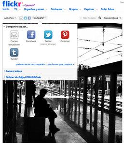 Flickr ahora se lleva bien con Pinterest