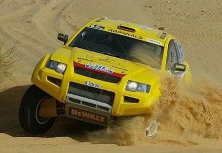 El primer coche eléctrico del Dakar: Vídeo