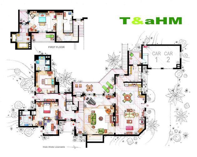 Foto de Planos de apartamentos de series de TV (6/17)
