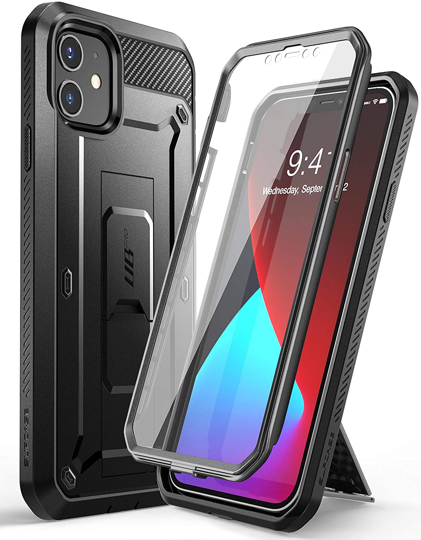 SUPCASE Funda iPhone 12 mini 5.4 [Unicorn Beetle Pro Series] 360° Carcasa Completa con Protector de Pantalla Incorporado para iPhone 2020 5.4 Inch