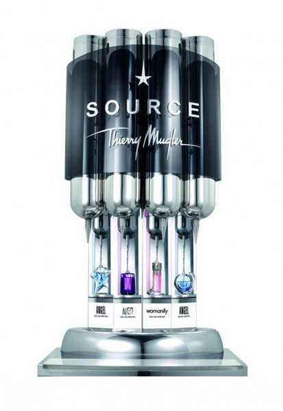 Gracias a sus fuentes, los perfumes Thierry Mugler se vuelven más ecológicos y económicos