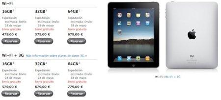 Apple actualiza su web y ya permite reservar el iPad en España