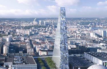 Paris da un paso hacia la modernidad con  la Torre Triangle