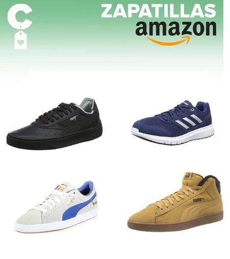Chollos en tallas sueltas de zapatillas deportivas para hombre y mujer de marcas como Adidas o Puma en Amazon
