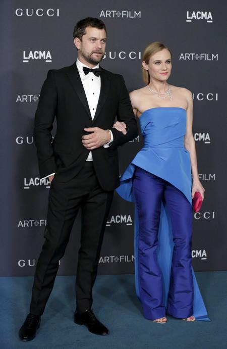 Joshua Johnson y Diane Kruger