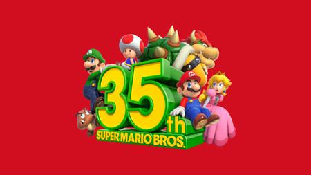 Super Mario Bros 35o Aniversario