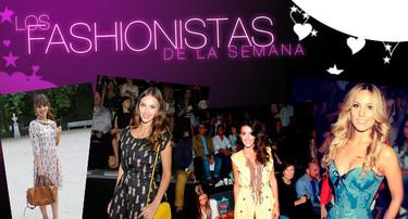 Los fashionistas de la semana: Las celebrities en la Mercedes Benz Madrid Fashion Week
