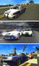 Primeras imágenes del Pursuit Force para PSP