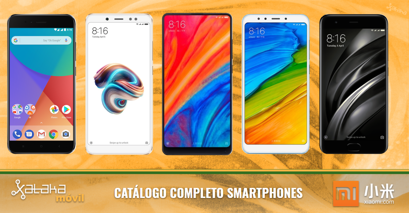 5d1b11286c Catálogo móviles Xiaomi 2018  Todas las novedades y nuevos smartphones