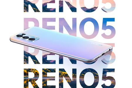 OPPO Reno 5 4G: la versión LTE tiene Snapdragon 720G, pantalla AMOLED a 90 Hz y carga rápida de 50W