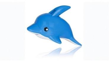 Bonito cortaúñas infantil con forma de delfín