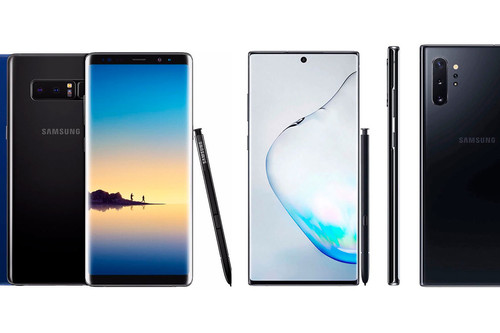 Samsung Galaxy Note 10 vs Galaxy Note 9, esto es todo lo que ha cambiado