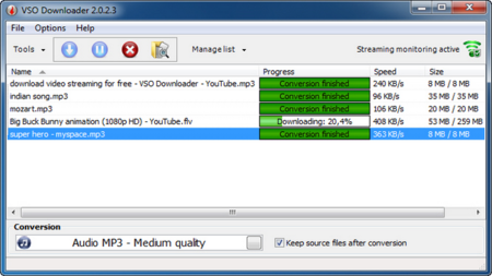 VSO Downloader, descarga los contenidos en streaming de Internet de forma automática a tu disco duro