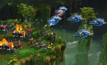Galería de imágenes y detalles del modo campaña de 'StarCraft 2'