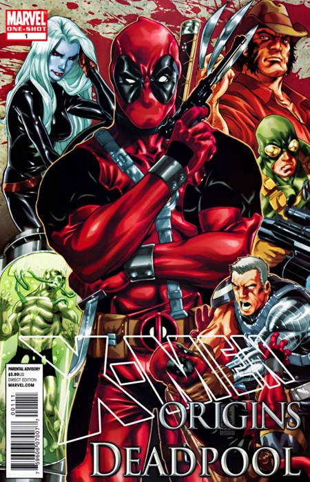 X Men Origins Deadpool Vol 1 1