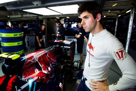 Jaime Alguersuari Box Toro Rosso