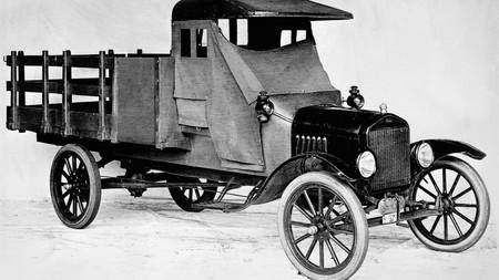 Model Tt Truck In 1917