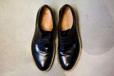 raf simons zapato cadena