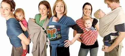 5 nuevas formas de cargar al bebé