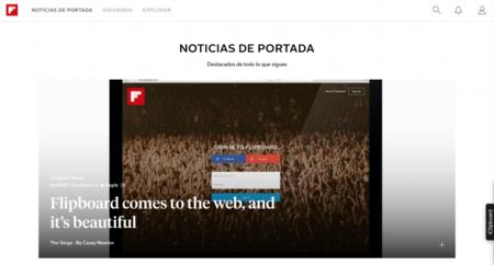 Ahora podrás disfrutar de Flipboard en tu computadora con su aplicación web