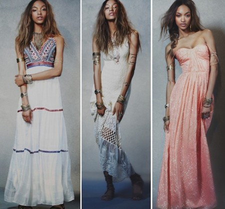 vestidos largos free people