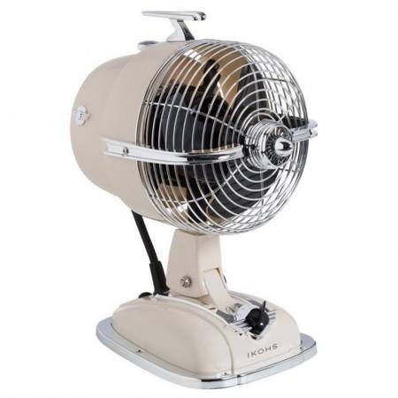 Ikohs Retro Jet Fan Ventilador Difusor De Aromas 24w Beige