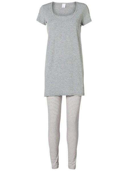 pijama premamá de rayas de Mamalicious