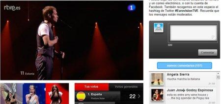 El Festival de Eurovisión más social en TVE