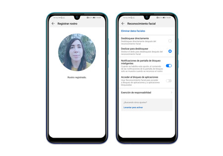 Huawei P Smart 2019 Reconocimiento