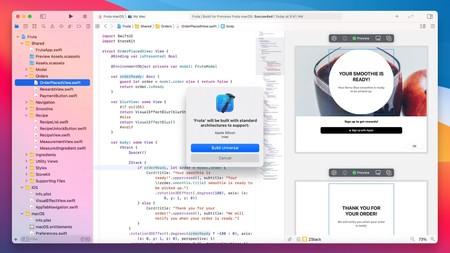 El nuevo macOS Big Sur incluirá binarios universales para x86 y ARM, y facilitará portar apps directamente desde iPad