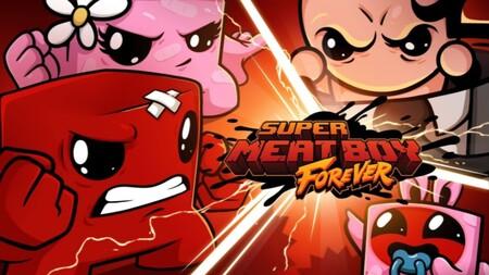 Super Meat Boy Forever por fin confirma su fecha de lanzamiento y tocará corretear sin parar a finales de diciembre