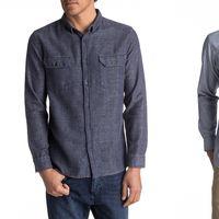 4 camisas para hombre rebajadas un 50% en Quiksilver