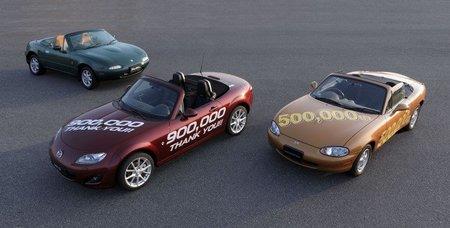 El Mazda MX-5 renueva su Récord Guinness