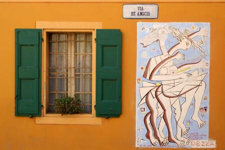 Los murales de Dozza, Italia: un pueblo con mucho arte
