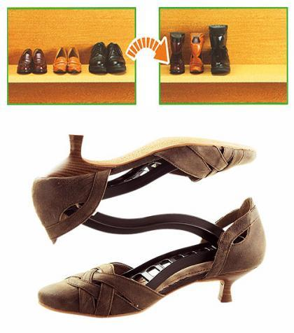 Pinza elástica para los zapatos