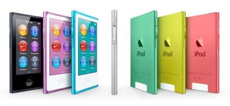 Los nuevos iPod nano