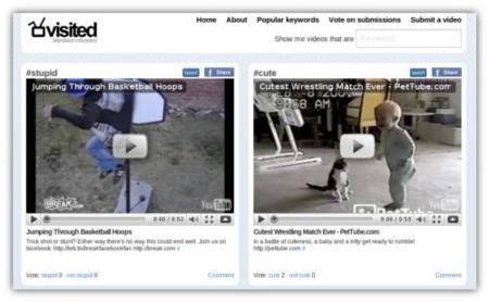Visited.org, clasifica los vídeos según cómo te hacen sentir