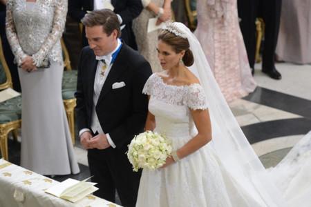 Magdalena de Suecia vestido novia