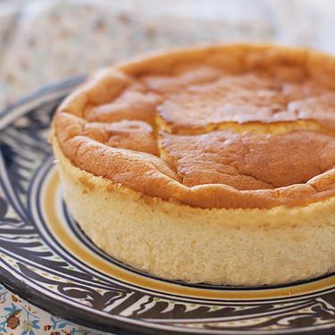 Cómo hacer cheesecake o tarta de queso japonesa, receta fácil y deliciosa