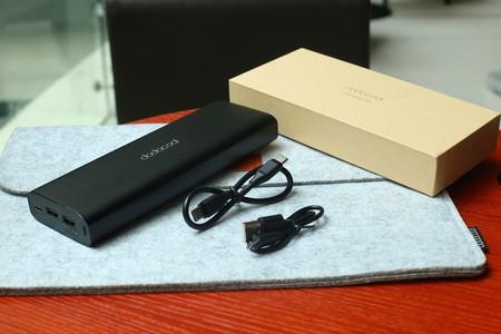 Esta batería externa de 20.100 mAh de dodocool es capaz de cargar desde tu iPhone al MacBook, a la vez