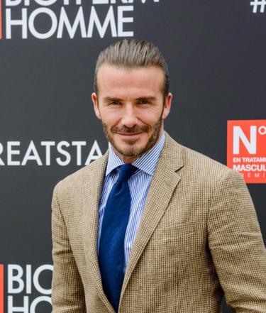 David Beckham vuelve a Madrid y mirad quién está en su nueva campaña...