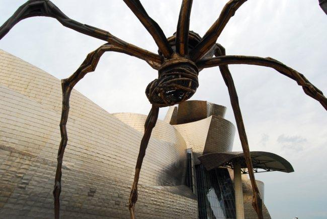 Bilbao-Guggenheim-Araña