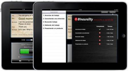 Escucha y Aprende, aplicación para iPad con la que aprender inglés